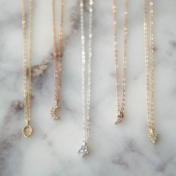 Intuition Necklace, Necklace, - Wander + Lust Jewelry