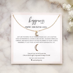 Happiness Necklace, Necklace, - Wander + Lust Jewelry