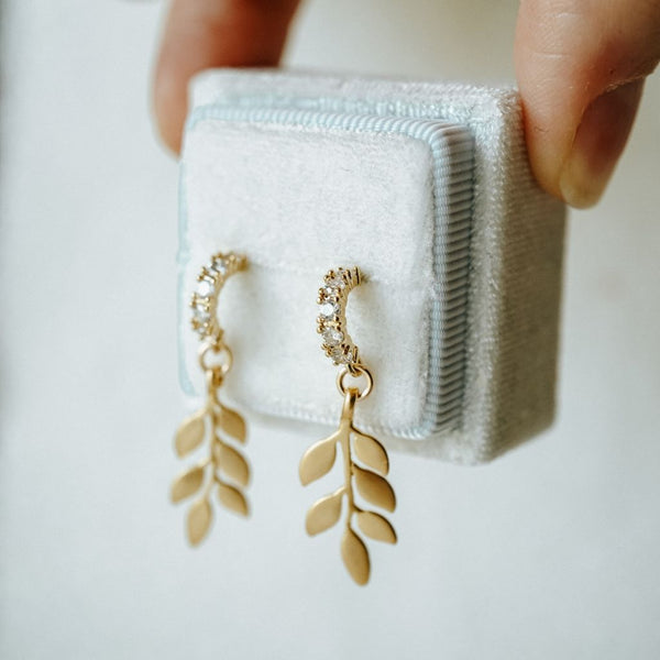 Siena Leaf Earrings