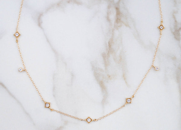 The Annabelle Dainty Gold Choker - Wander + Lust Jewelry  - 2