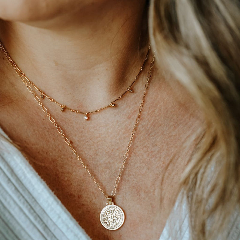 Mabel Medallion Necklace