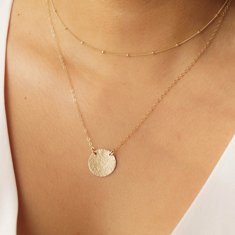 Modern Minimalista Necklace Set, Necklace, - Wander + Lust Jewelry