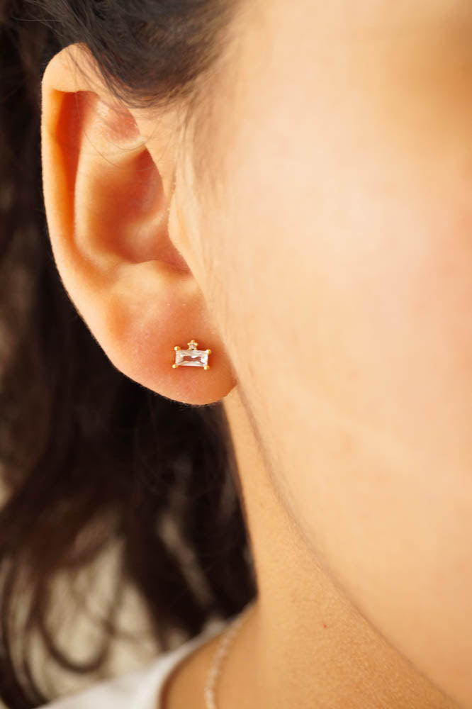 Lucy Studs, Earrings, - Wander + Lust Jewelry