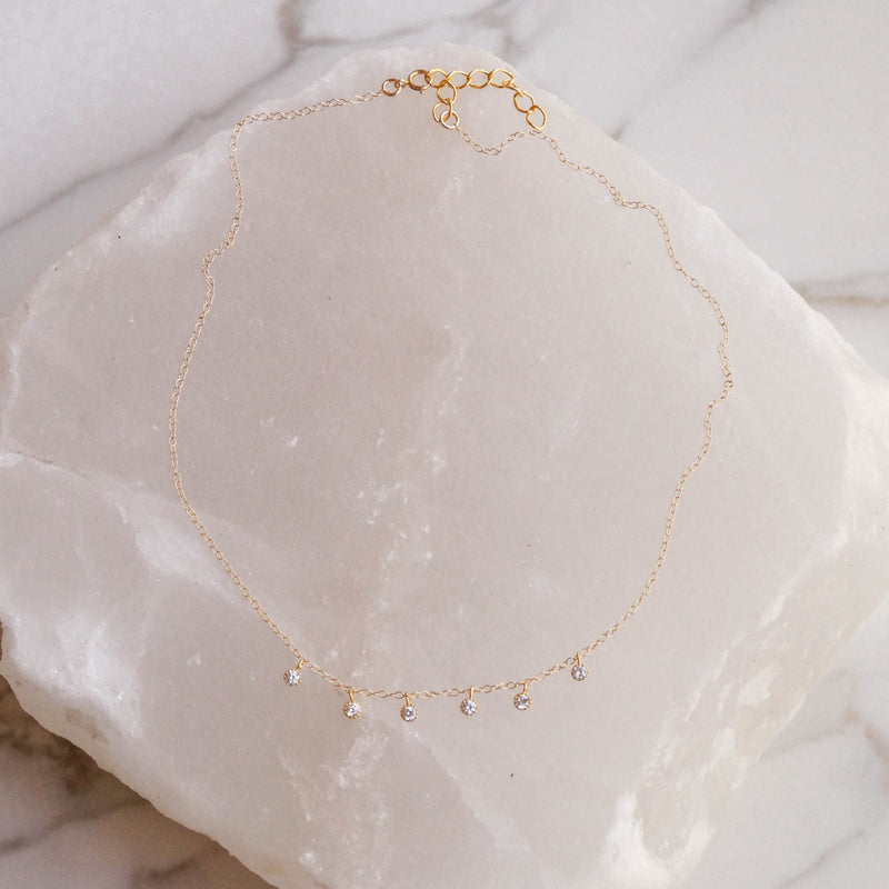 Moonlight Necklace Set, Layered Necklace, - Wander + Lust Jewelry