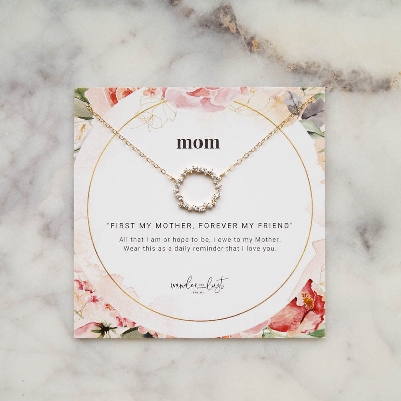 Mom Gift Set, Necklace, - Wander + Lust Jewelry