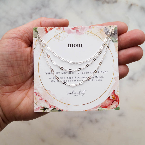 Deluxe Mom Gift Set, Necklace, - Wander + Lust Jewelry