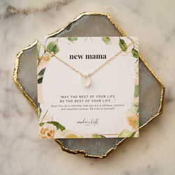 New Mama Gift Set, Necklace, - Wander + Lust Jewelry