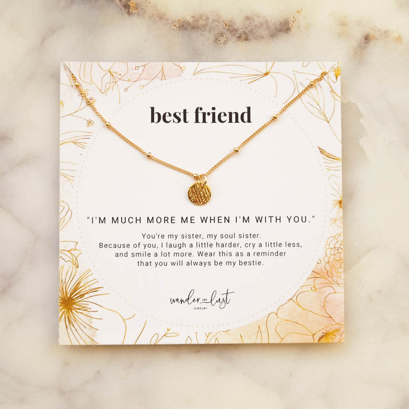 Best Friend Gift Set, Necklace, - Wander + Lust Jewelry
