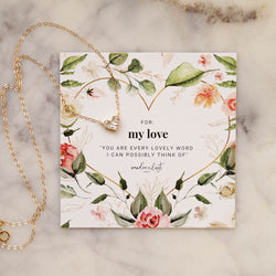 My Love Gift Set, Necklace, - Wander + Lust Jewelry