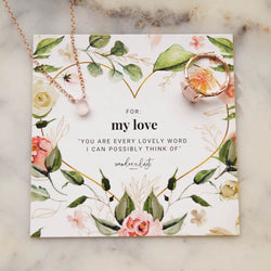 Deluxe My Love Gift Set, Necklace, - Wander + Lust Jewelry