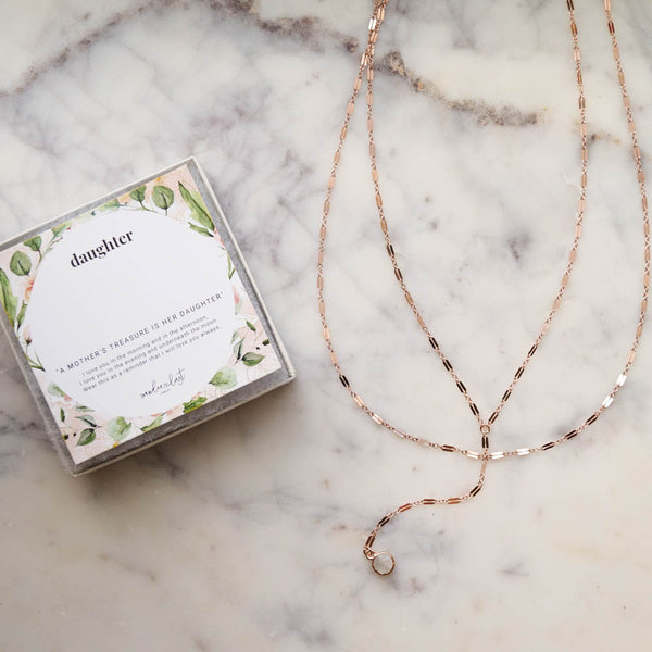 Deluxe Daughter Gift Set, Necklace, - Wander + Lust Jewelry