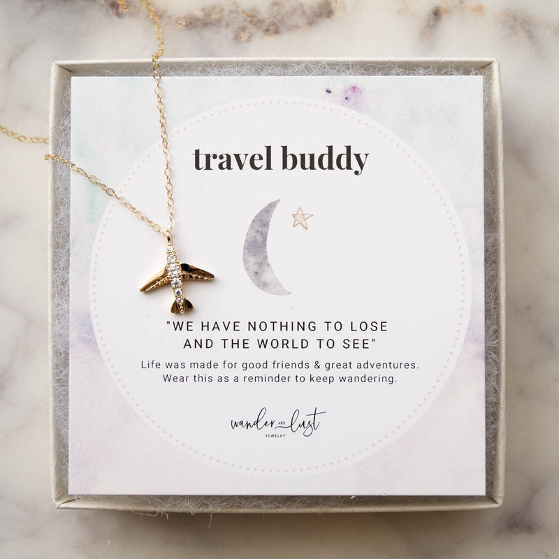 Travel Buddy Gift Set, Necklace, - Wander + Lust Jewelry