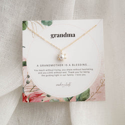 Grandma Necklace, Necklace, - Wander + Lust Jewelry