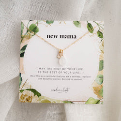 New Mama Necklace, Necklace, - Wander + Lust Jewelry