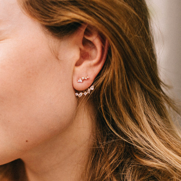 Nova Ear Jackets, Earrings, - Wander + Lust Jewelry