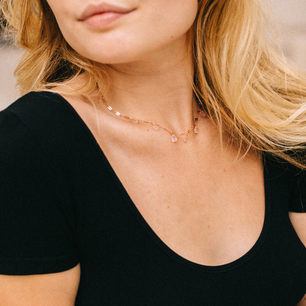 The Mila Necklace, Necklace, - Wander + Lust Jewelry