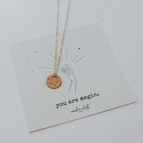 You Are Magic Necklace, Necklace, - Wander + Lust Jewelry