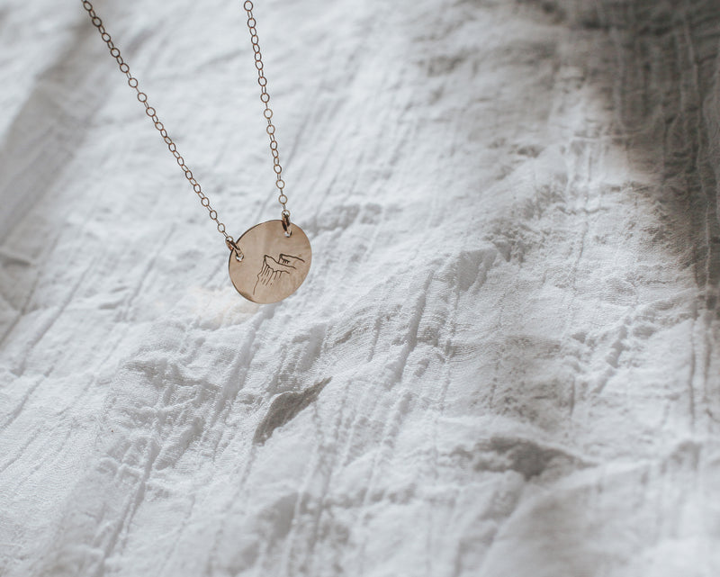 Forever Wild Mountain Necklace, Necklace, - Wander + Lust Jewelry