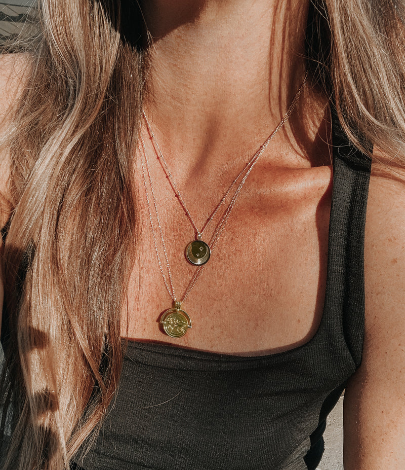 Gypsy Pendant Necklace, Necklace, - Wander + Lust Jewelry