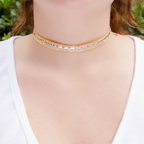 The Sari Choker - Wander + Lust Jewelry  - 1