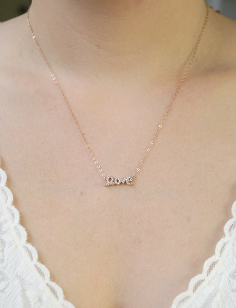 Love Necklace, Necklace, - Wander + Lust Jewelry