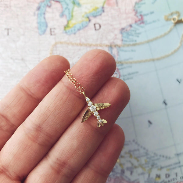 Wanderlust Necklace, Necklace, - Wander + Lust Jewelry