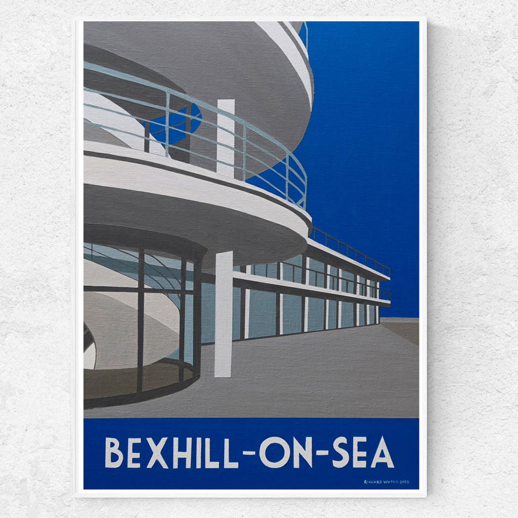 Bexhill-On-Sea Sussex - De La Warr Pavillion Print