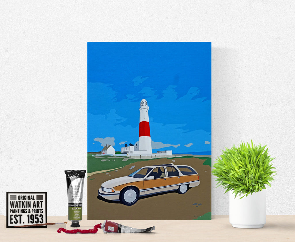 Dorset Portland Bill Lighthouse with Buick Commission