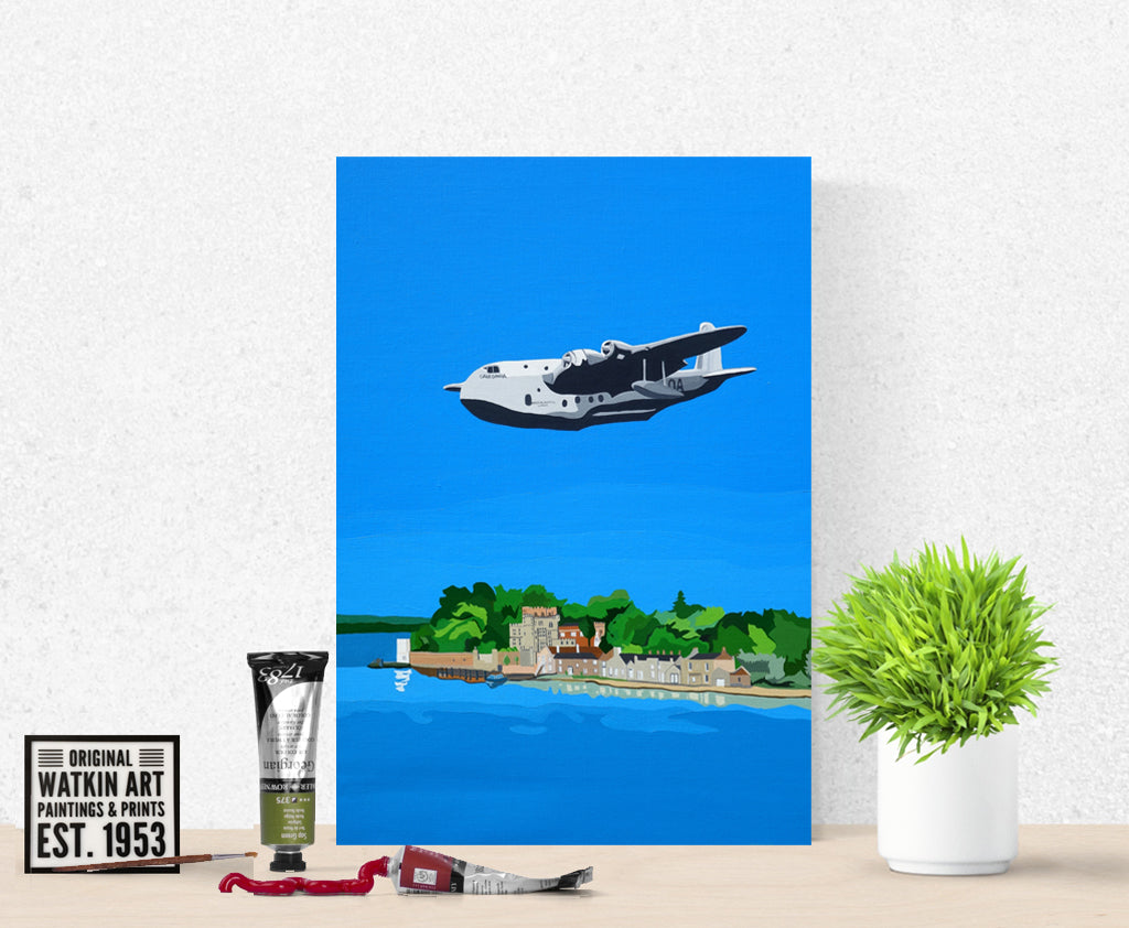Brownsea Island with Flying Boat commission