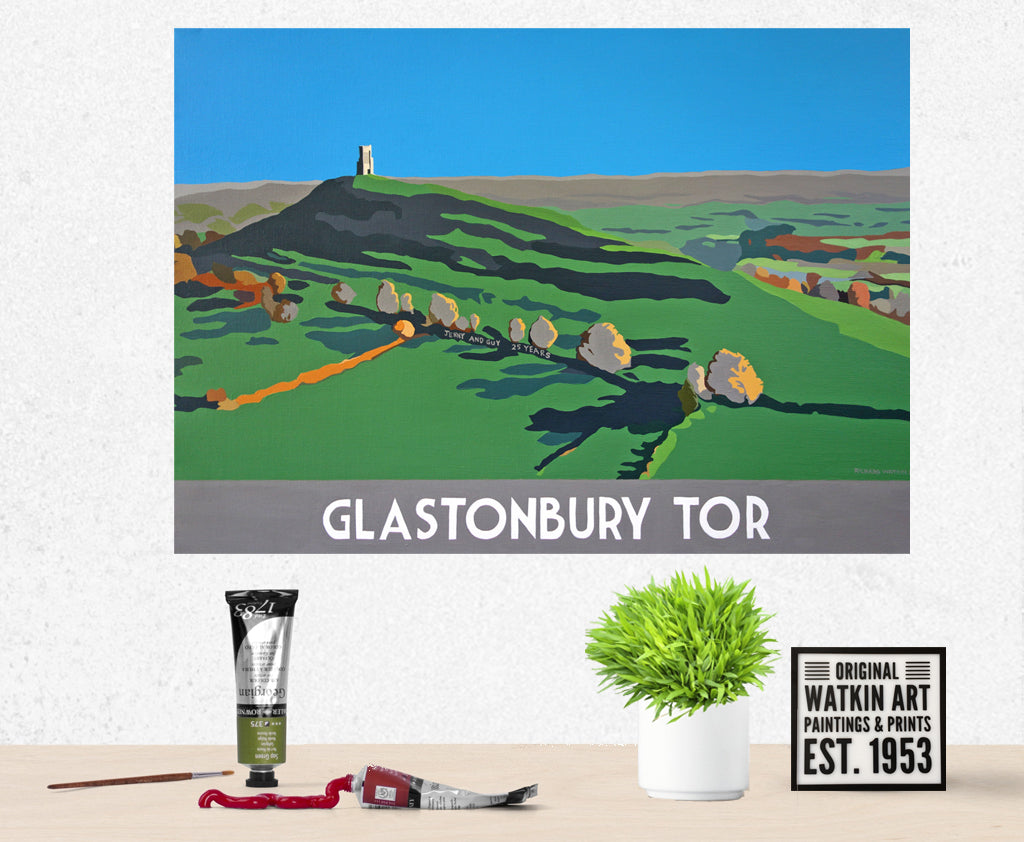 Glastonbury Tor Commission