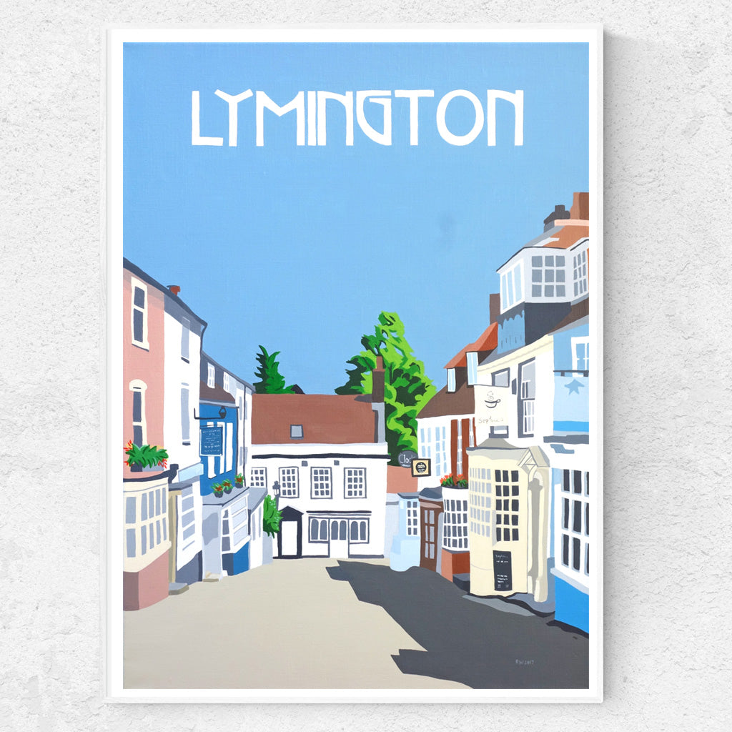 Lymington Hampshire Print