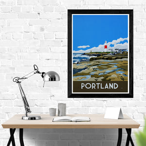 Dorset Portland Bill Lighthouse print
