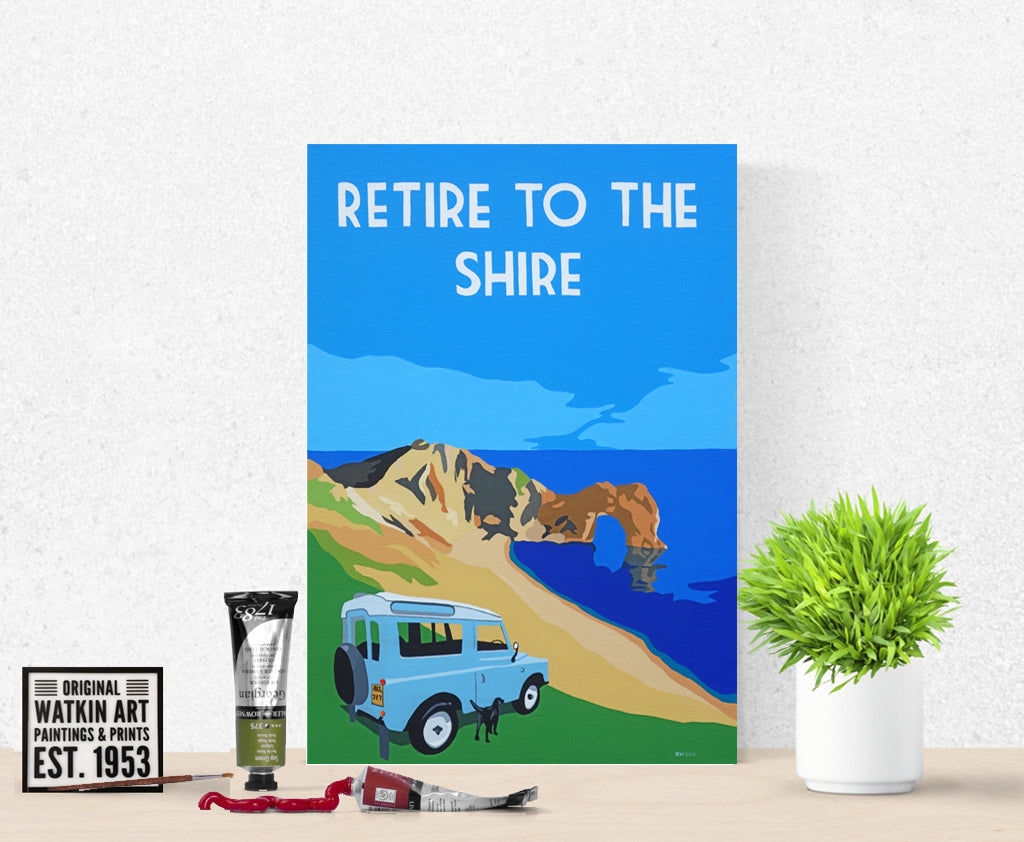 Retire to the Shire