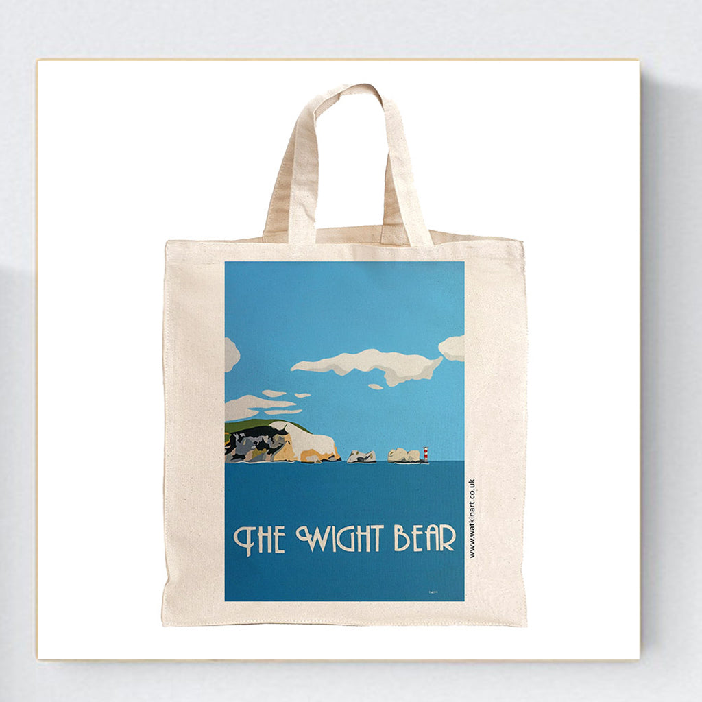 The Wight Bear Isle of Wight Tote Bag