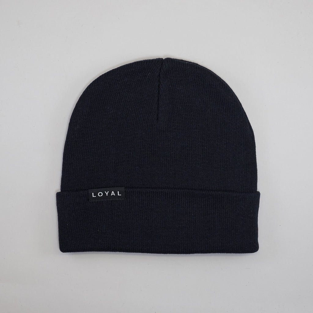 FITTED WINTER HAT - BLACK