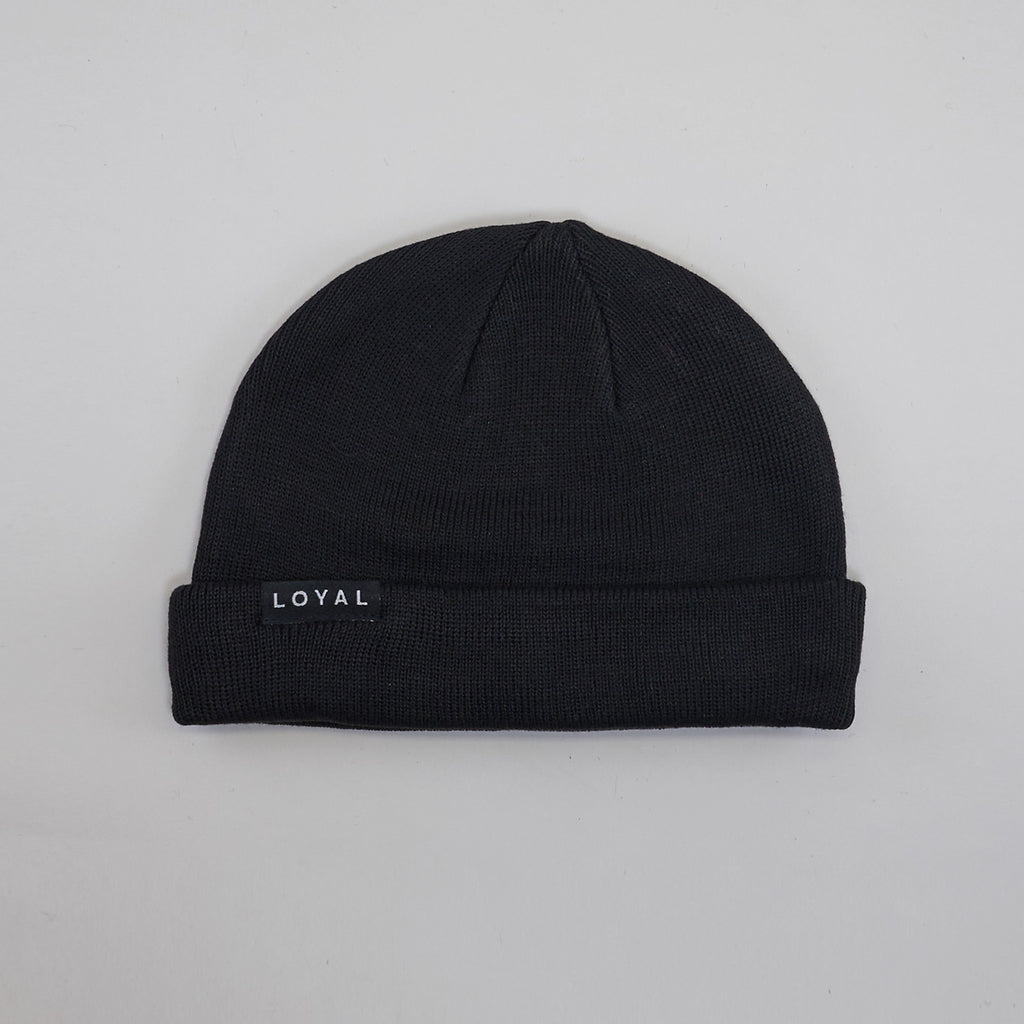 FISHERMAN BEANIE - BLACK