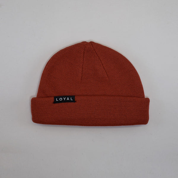 FISHERMAN BEANIE - BRICK