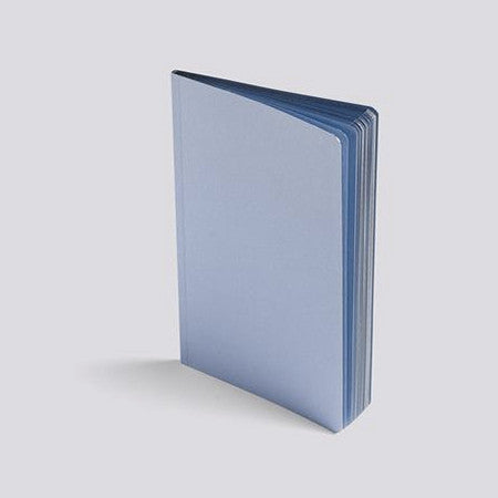 Gold and Silver Edge Notebook