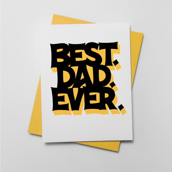 Best Dad Ever - QTY: 6