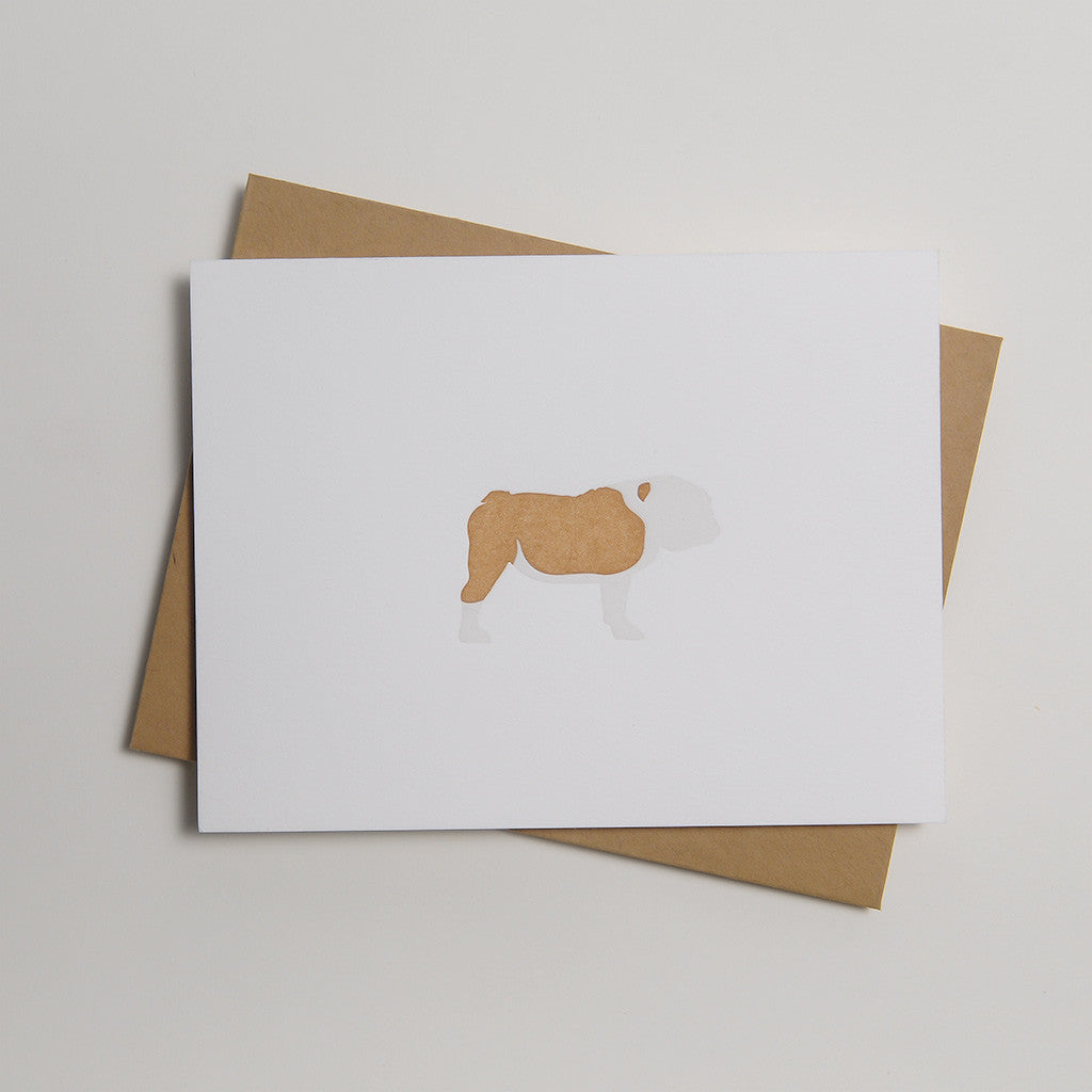 Letterpress Dog Card - Big Girl