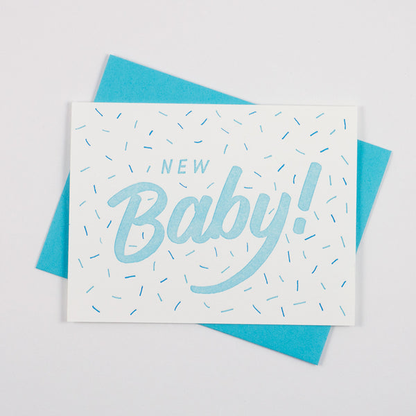 Blue New Baby - QTY: 6