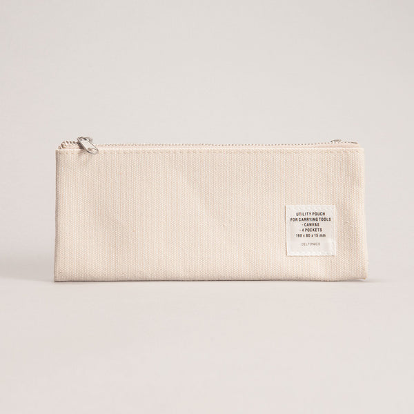 Utility Pouch - Beige