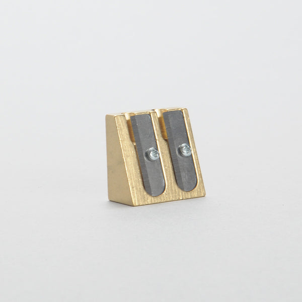 Sharpener - Brass Double Wedge