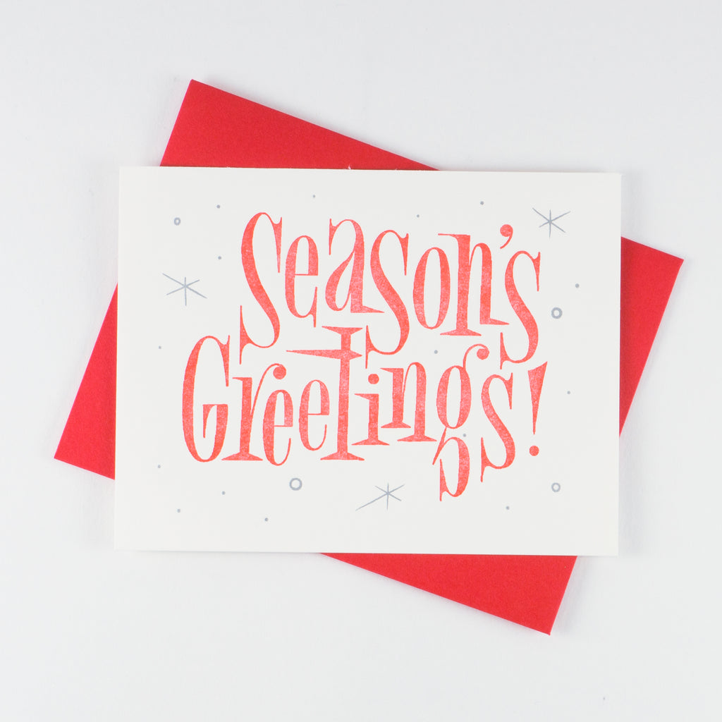Season's Greetings - QTY: 6