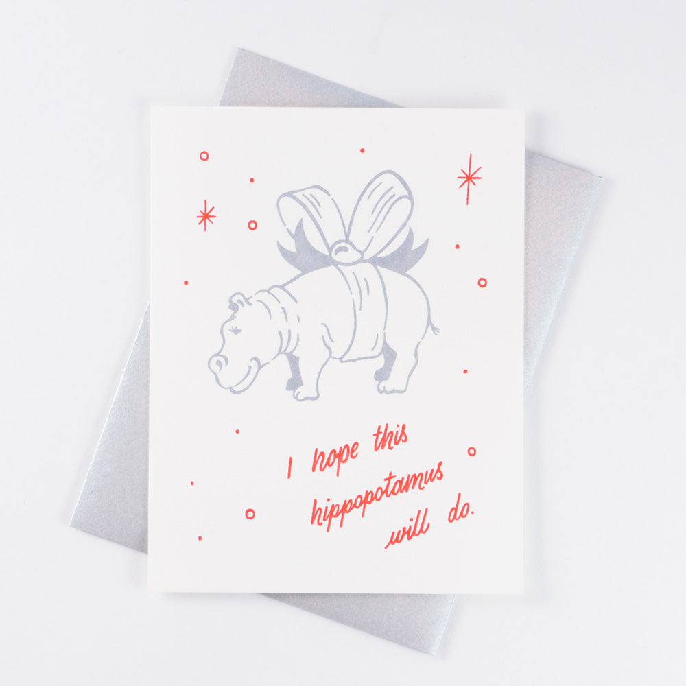 Holiday Hippo - QTY: 6