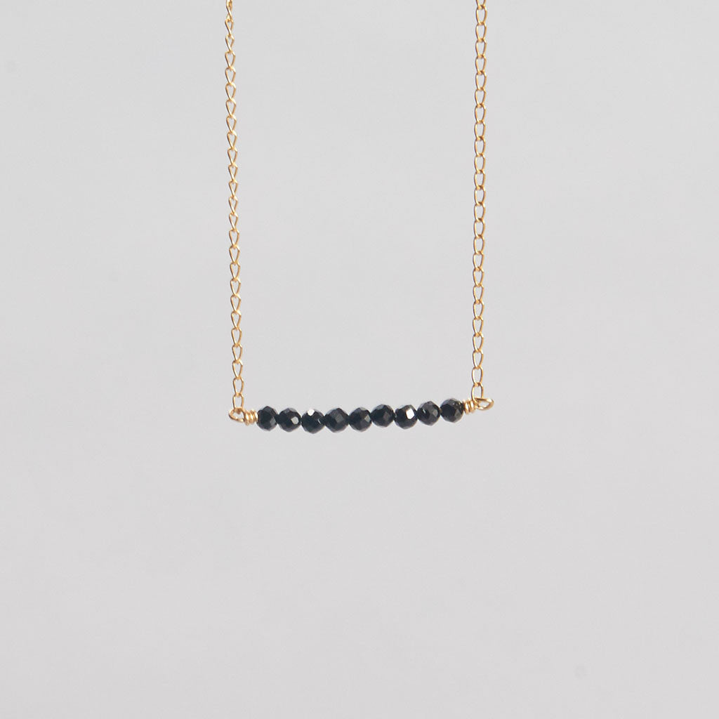Stone Ellipsis Necklace
