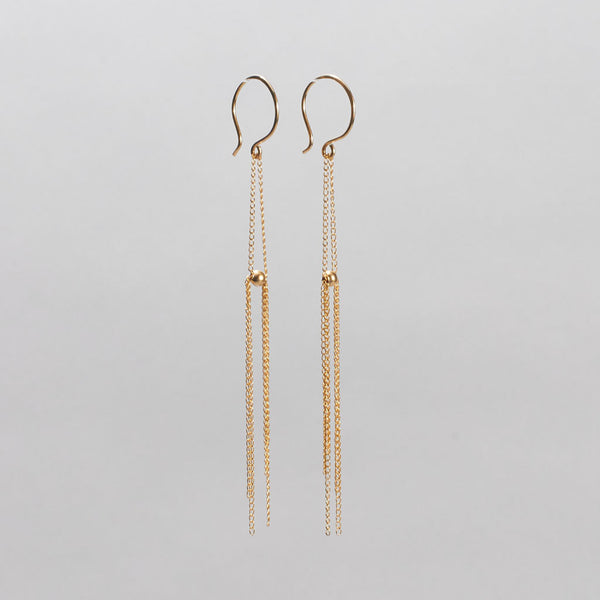 Chain Fringe Earrings