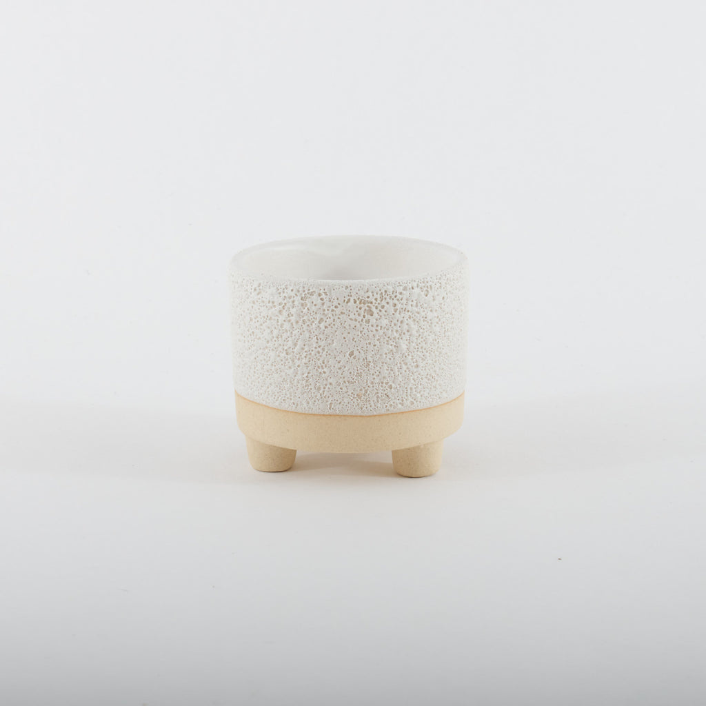 Mini White Planter