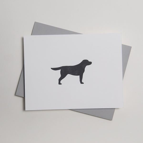 Letterpress Dog Card - Kenzie