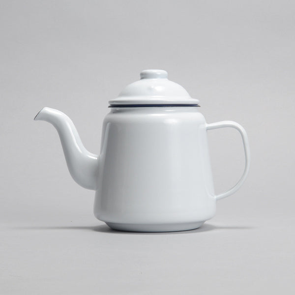 Enamel Kettle - White